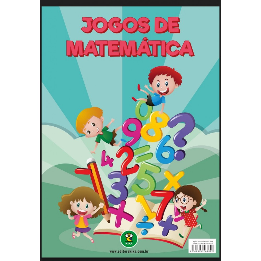 Jogos de Matemática Roleta da Adição, Subtração, Multiplicação e Divisão