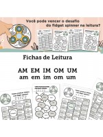 Fichas de Leitura - Família AM EM IM OM UM