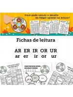 Fichas de Leitura - Família AR ER IR OR UR