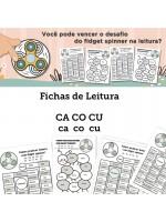 Fichas de Leitura - Família CA CO CU