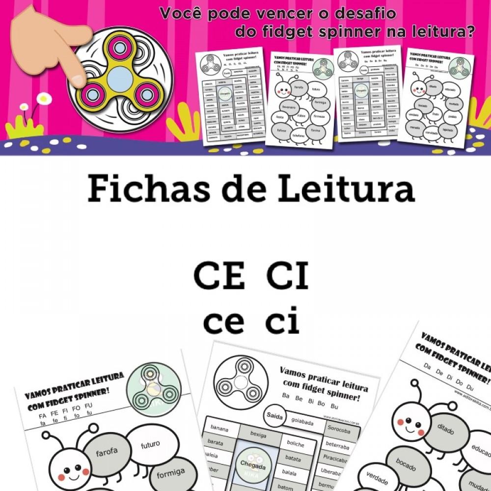 Fichas de Leitura - Família CE CI