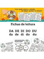 Fichas de Leitura - Família DA DE DI DO DU