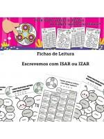 Fichas de Leitura- Palavras com ISAR ou IZAR