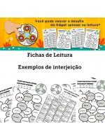 Fichas de Leitura - Exemplos de Interjeição